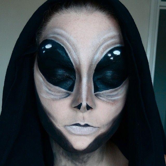 alien makeup space makeup. Black Bedroom Furniture Sets. Home Design Ideas