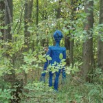 Alien in woods