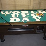 World ufo day pooltable