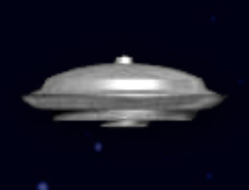 Huge Football shaped glowing UFO spotted in Michigan, Garden City